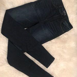 Abercrombie Simone high rise super skinny jeans